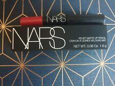 NARS Cosmetics Velvet Matte Lip Pencil - Dragon Girl 9260, 1.8g Sample Size BNIB
