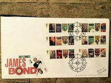 ROYAL MAIL FIRST DAY COVER STAMPS: IAN FLEMMING'S JAMES BOND BOOKS 08/01/08
