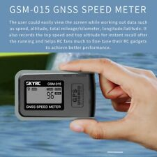 SKYRC GSM-015 GNSS GPS Speed Meter for RC Model Helicopter Plane Quad Multirotor