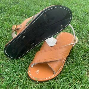 Men's Huarache De Hombre CRUZADO Acojinado Con Evilla w/Buckle Mexican Sandals