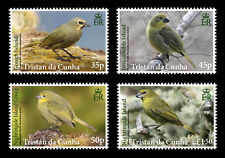 Tristan da Cunha 2014 Finches 4v set MNH