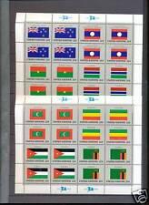 VN/UNO Vlaggenvellen 1986 postfris