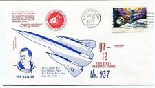 1974 YF-12 n°937 High Speed Research Plane Don Mallick NASA Edwards Space Shuttl