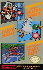 Super Mario Bros. Duck Hunt World Class Track Meet Nintendo NES FREE SHIPPING!
