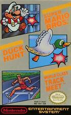 Super Mario Bros. / Duck Hunt / World Class Track Meet (Nintendo NES)
