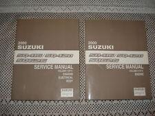 2000 SUZUKI SQ416 SQ420 SQ625 SERVICE MANUAL SET SHOP
