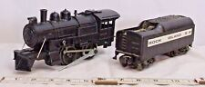 LIONEL STEAM LOCOMOTIVE #8500 WITH TENDER FOR PARTS OR RESTORE