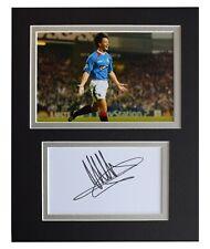 Michael Mols Signed Autograph 10x8 photo display Rangers Football AFTAL COA