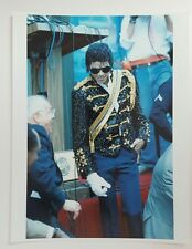 8 x 10 Color Photo Michael Jackson Hollywood Walk of Fame Ceremony