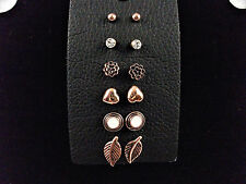 New Aeropostale post earring 6 pair set