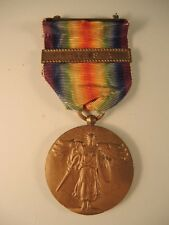 Rare WW I victory medal with White Sea bar World War One