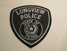 LONGVIEW TEXAS POLICE OFFICER COP PATROL TROOPER LAW ENFORCEMENT PATCH NEW