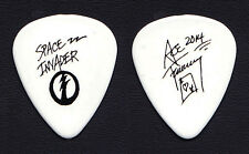 KISS Ace Frehley Signature White Guitar Pick - 2014 Space Invader Solo Tour