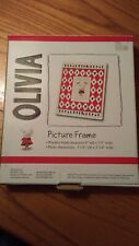 Olivia (by Ian Falconer) children's picture frame; wooden; collectible; licensed