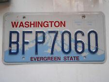 plaque immatriculation  usa washington license plate old americaine 7060