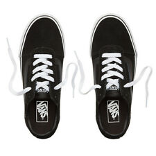 Vans NEW Women's Ward Suede Shoes - Black / White BNWT