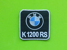 BMW K1200RS PATCH TOPPA  RICAMATA TERMOADESIVA CM.5,5X5,5
