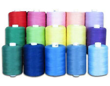 15 Spools Lot Sewing Thread Silk for embroidery Assorted Colors gitti