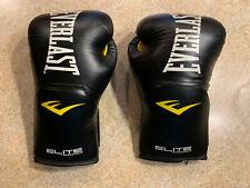 Everlast Elite boxing gloves 14 oz size Large good condition