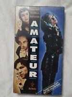 Amateur (VHS 1994) RARE(OOP) SCREENER COPY OutOfPrint HTF 90s Romp SEXY COM  NEW