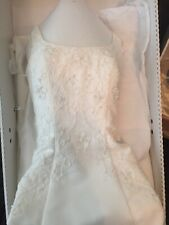 Oleg Cassini Ivory size 4 Wedding Dress RN 84270
