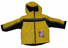 NEW DISNEY LIGHTNING MCQUEEN  BOMBER JACKET YELLOW BLACK 3T 3  YEARS AUTHENTIC