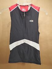 Louis Garneau Triathlon Top • Medium • Red / Black / White • Canada • Run Bike