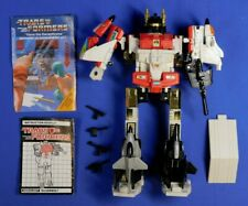 TRANSFORMERS G1 AERIALBOTS SUPERION COMPLETE MERGE GROUP 1986 HASBRO