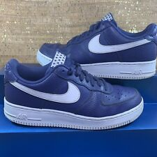 Nike Air Force 1 '07 Men's Shoes AA4083-401 2017'-18' Blue Recall/White Size 9.5
