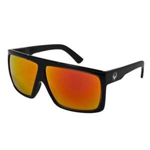 Dragon Fame Sunglasses Black Jet / Red Ion Non-Polarized