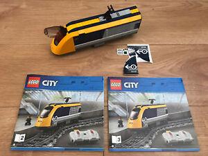 LEGO 60197 City Passenger train Locomotive Brand New + Unused Stickers