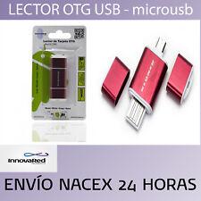LECTOR OTG USB & MICRO USB NEGRO