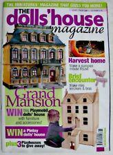 THE DOLLS' HOUSE MAGAZINE 2005 Nov No 90 Dragon Musical Instruments Pumpkin Home