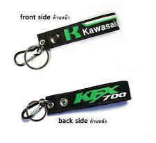 Kawasaki KFX700 KFX Belt Keychian Tag Racing Biker Motorcycle Embroidered