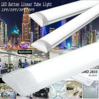 1FT/2FT/3FT/4FT LED Batten Linear Tube Light Ceiling Lighting Rectangle Lamp US