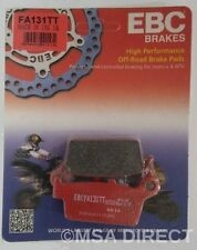 "Honda XR400 (1996 to 2008) EBC ""TT"" REAR Disc Brake Pads (FA131TT) (1 Set)"