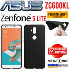 Asus ZENFONE 5 LITE ZC600KL Cover Morbida Custodia Silicone Tpu Nera Slim