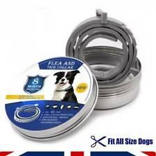 UK Flea and Tick Collar Dog Cat 8 Month Protection Adjustable Small Medium Large