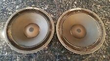 Vintage ALTEC 414Z Woofer Speakers Pair - Beautiful Works Great!