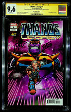 Thanos Legacy #1 - Ace - CGC SS 9.6 - signed 3x by Lim, Starlin and Josh Brolin