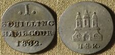 Germany State : Hamburg 1832HSK  1 Sch XF+  #546.1    IR7730