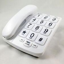 TELÉFONO FIJO TECLAS GRANDES SOBREMESA O PARED ALTAVOZ MANOS LIBRES ANCIANOS