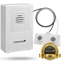 Water Heater Rain Leak Sensitive Detector Sound Alarm Wire Sensor Siren Alert