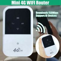 Portable 4G LTE WIFI Router 150Mbps Wireless Mobile Hotspot SIM Card Unlocked C#