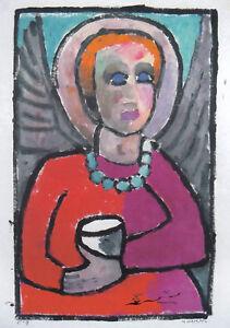 Kunstkarte: Helen Dahm - Engel, 1956