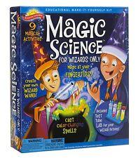Science Experiments Kit Magic Spells Kitchen School Scientific Explorer Wizards