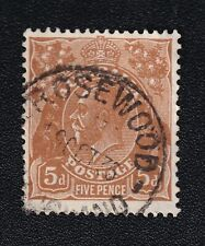 "Australia Queensland ""ROSEWOOD"" Postmark on 5d KGV"