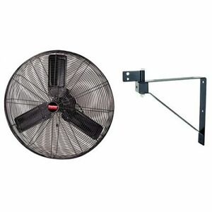 "Dayton 1Rwb4 Light-Duty Industrial Fan 30"" Non-Oscillating , 115Vac ,"