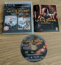 God of War Collection 1 & 2 I II Sony PlayStation 3 PS3 HD Remaster Game VGC
