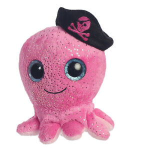 Aurora World Plush - YooHoo Friends - OLEE the Pink Pirate Octopus (5 inch)